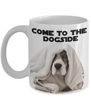 "Funny Beagle Mug ""Come To The Dogside Beagle Coffee Mug"" Funny Darth Sid... - $14.95"