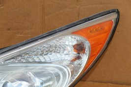 11-15 Hyundai Sonata Hybrid Projector Headlight Driver Left LH - POLISHED image 2