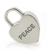 Tiffany & Co. Peace Padlock Charm in Sterling Silver - $217.80