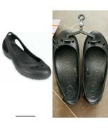 New Crocs Kadee Closed Toe Slingback Ballet Flats Slide Size US 6 Womens... - $22.67