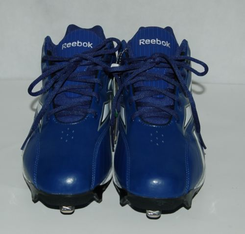 Reebok Hexride Blue Authentic Collection Baseball Cleats Size 11 and 1/2