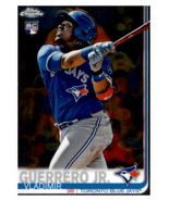 2019 Topps Chrome #201 Vladimir Guerrero Jr. NM-MT RC Rookie Blue Jays I... - $18.79