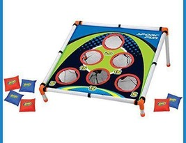 NEW Kids Outdoor Bean Bag Toss Game Camp Carnival Corn Hole Activities Set - £14.20 GBP