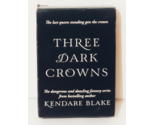 Three Dark Crowns custom Deck of Cards, New/unopened - €18,81 EUR