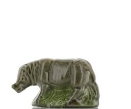 Wade Whimsie Miniature Porcelain Retail Series Rhinoceros