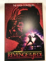 STAR WARS Revenge of the Jedi 13x19 in Wood Wall Sign Poster Darth Vader Luke