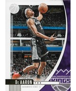 De'Aaron Fox Absolute Memorabilia 19-20 #8 Sacramento Kings - $0.15
