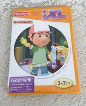 Disney Handy Manny Fisher Price iXL Learning System Software 3-7 yrs Games DVD  - $7.89