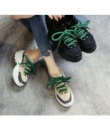 Spring Summer Women Casual Shoes Comfortable Platform Snickers Fashion T... - $31.99