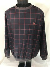 VTG Polo Golf Jacket Pullover Plaid Fleece Lined 90's Large Coat RLX Chaps - $39.99