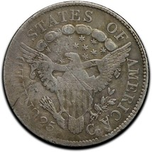 1806 Capped Bust Silver Half Dollar 50¢ Coin Lot# A 507 image 2