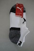 Puma Boy's 3 Pair Low Cut Cushioned Socks size 9-11 Shoe 4-9.5 New - $8.90
