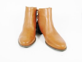 ALFANI Step n Flex Women's Chelsea Boots Brown Leather Side Zip Slip On ... - $54.44