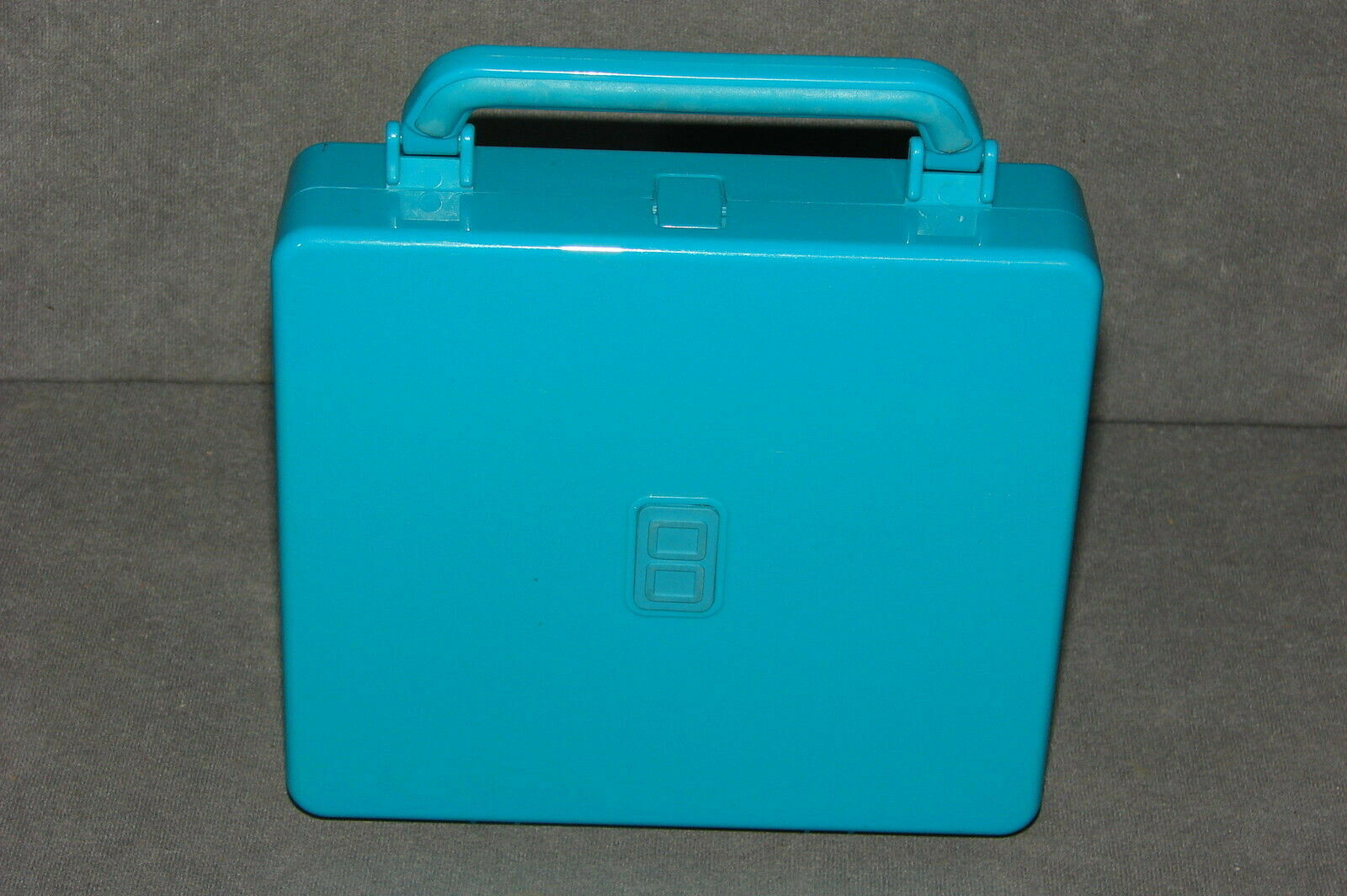 Primary image for Nintendo DS: Aqua Blue System Carrying Case Hard Shell 7x6