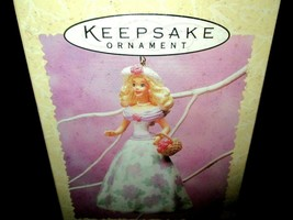 1995 Springtime Barbie Easter Collection Hallmark Keepsake Christmas Orn... - $12.82