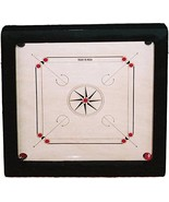 Ally Sports Top Grade Standard Carrom Wooden Board Game With acrylic Co... - $180.00