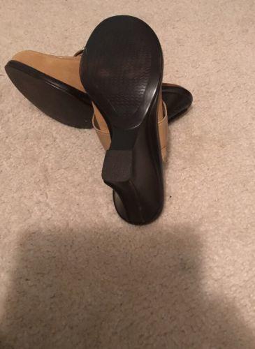 Dr. Scholls The Original Taupe Clogs Mules Women's Size 7M