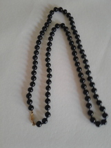 Monet Black Glass Beaded Necklace - $35.00