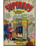 SUPERBOY #84 1960 DC SUPERMAN RAINBOW RAIDER   WM TELL FN - $50.44