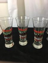 Set of 3 Vintage Budweiser Clydesdale 1992  Fluted Pilsner 12 Oz Beer Glass - $24.08