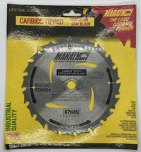 "Irwin Marathon Thin Kerf Carbide Tipped Circular Saw Blade 14020 ""Made I... - $21.39"
