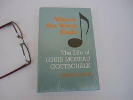 Music Biography composer pianist Louis Moreau Gottschalk American New Bo... - $27.26