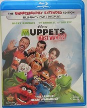 Disney Muppets Most Wanted (Blu-ray/DVD, 2014, 2-Disc Set)