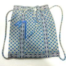 Vera Bradley Riviera Blue Drawstring Bag - $39.99