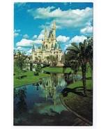 Florida Postcard Disney World Cinderella Castle Gothic Spires - $2.84