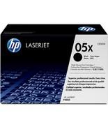 HP Genuine CE505X 05x High Yield Black LaserJet Toner Cartridge CE505X - $176.18