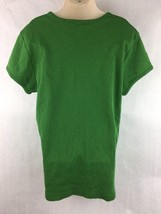 Abercrombie & Fitch Girls Green Short Sleeve Shirt Size XL image 2