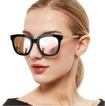 SIPHEW Oversized Mirrored Sunglasses Polarized 100% UV400 Protection