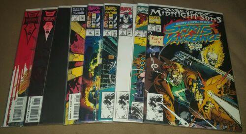 Ghost Rider/Blaze: Spirits Of Vengeance #1, 2, 3, 5, 6, 12, 13, 17, 18,