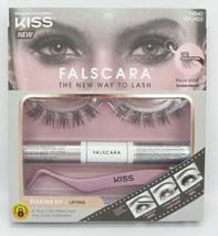 Kiss Falscara Starter Kit Lifting False Lashes with Adhesive New 79840 K... - $14.25