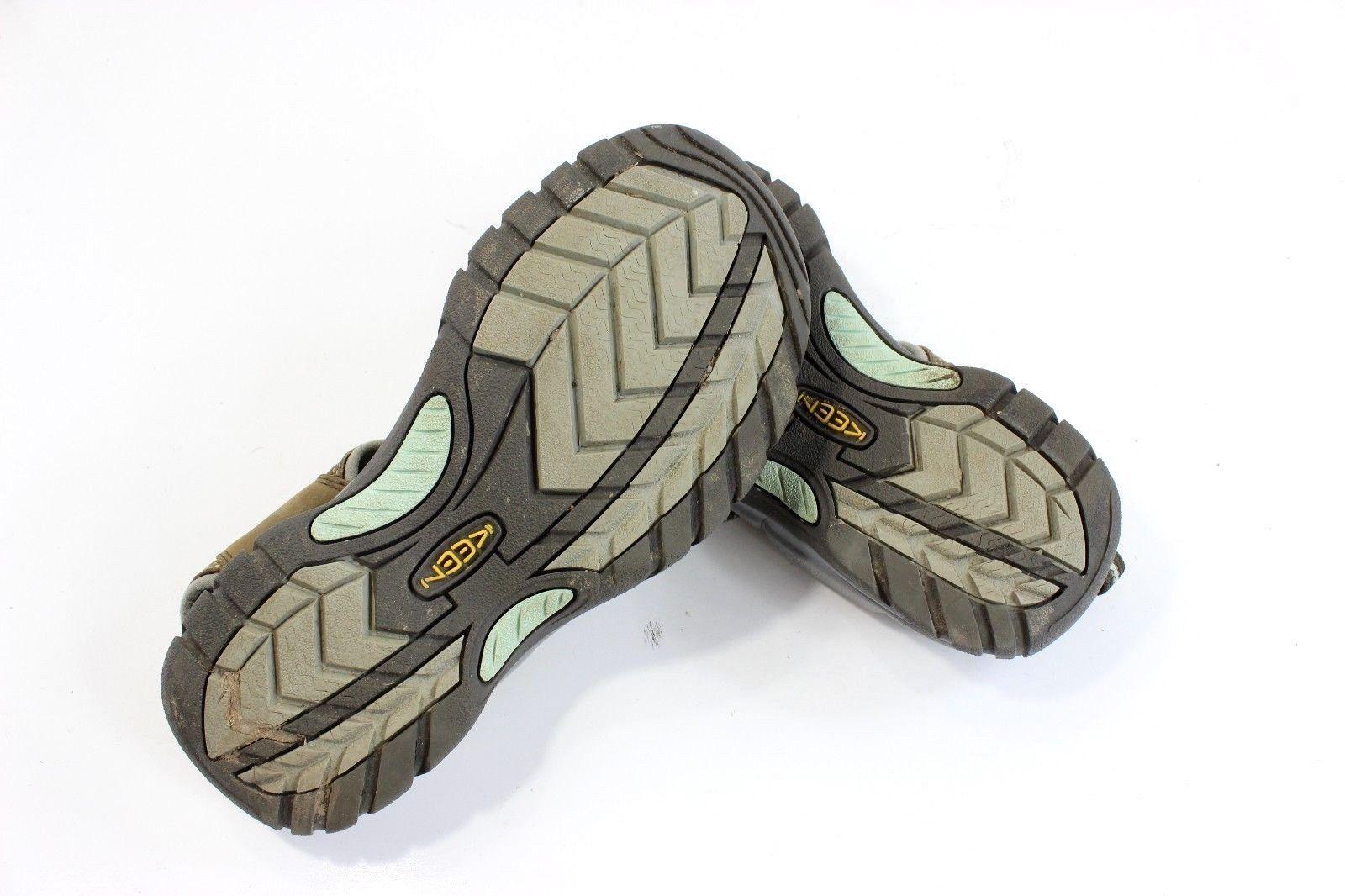 Keen Venice Brown Leather Waterproof Sport Sandals Shoe 5210 Womens 7.5 Eu 38