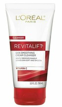 L'Oreal Paris Revitalift Radiant Smoothing Wet Facial Cream Cleanser - $9.04