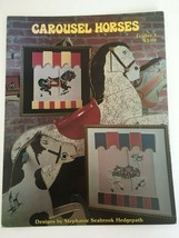 Carousel Horses No 3 Pegasus Originals Stephanie Hedgepath Cross Stitch ... - $7.20