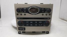 2011-2012 Lexus Ct200h Radio Control Panel 35519 - $143.99