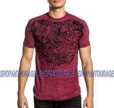 Affliction River Styx A20894 New Short Sleeve Fashion Graphic T-shirt For Men - $48.00