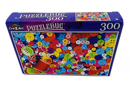 Colorful Buttons and Thread - Puzzle - 300 pcs - NEW - $4.46