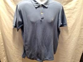 CHAPS RALPH LAUREN SZ M Blue Polo Shirt Mens - $9.67