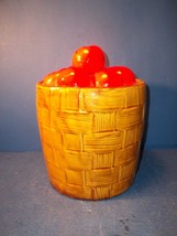 MCCOY? BASKET OF TOMATOES COOKIE JAR - $29.99