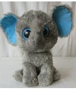 "Ty Beanie Boos PEANUT the ELEPHANT (blue glitter eyes) 9"" (Medium Size) - $19.79"