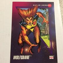 1992 Marvel X-Men Wolfsbane Super Heroes Trading Card - $2.99