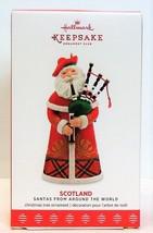2017 Hallmark Keepsake Ornament Santas From Around The World Scotland Sa... - $39.90