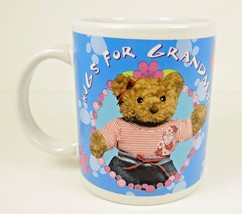 Build A Bear Mug Hugs For Grandma Coffee Tea Cup New Ceramic with Gift Box - $21.95
