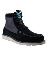 Diamond Supply Black Suede G.I. Ankle Moc Work Boots NIB - $74.25
