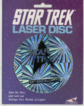 laser disc star trek the next generation new unused see photos.(very rare) holog - $11.00