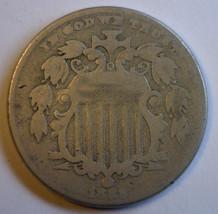 1882 Shield Nickel 5¢ Vg Condition - $33.81