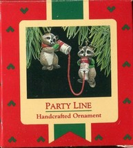 1988 Hallmark Handcrafted Ornament - Party Line - Campbell Soup Can Phones - $9.89